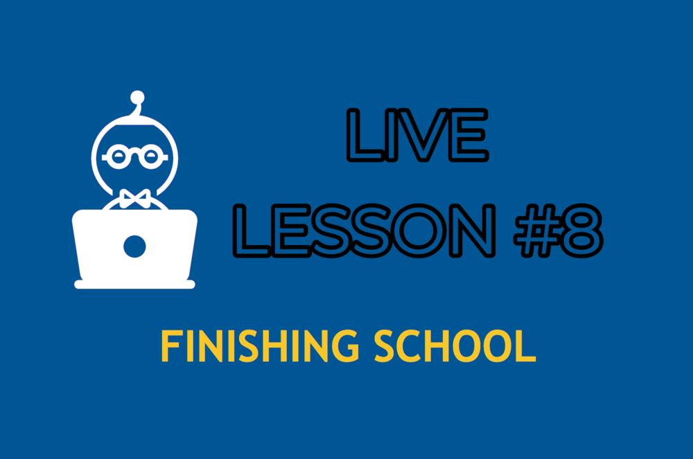 LESSON 8    ENTER