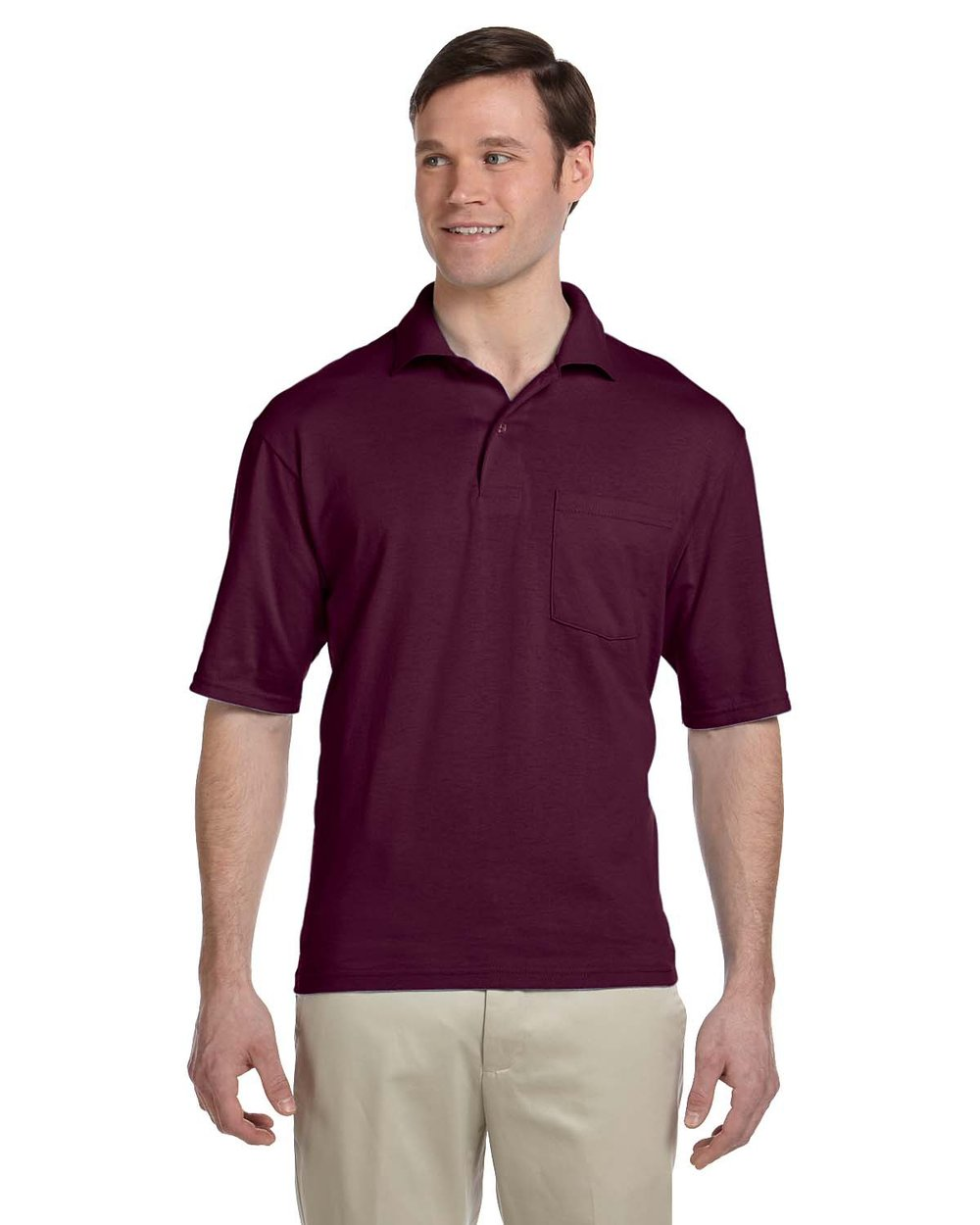 50/50 Pocket Jersey Polo #436P