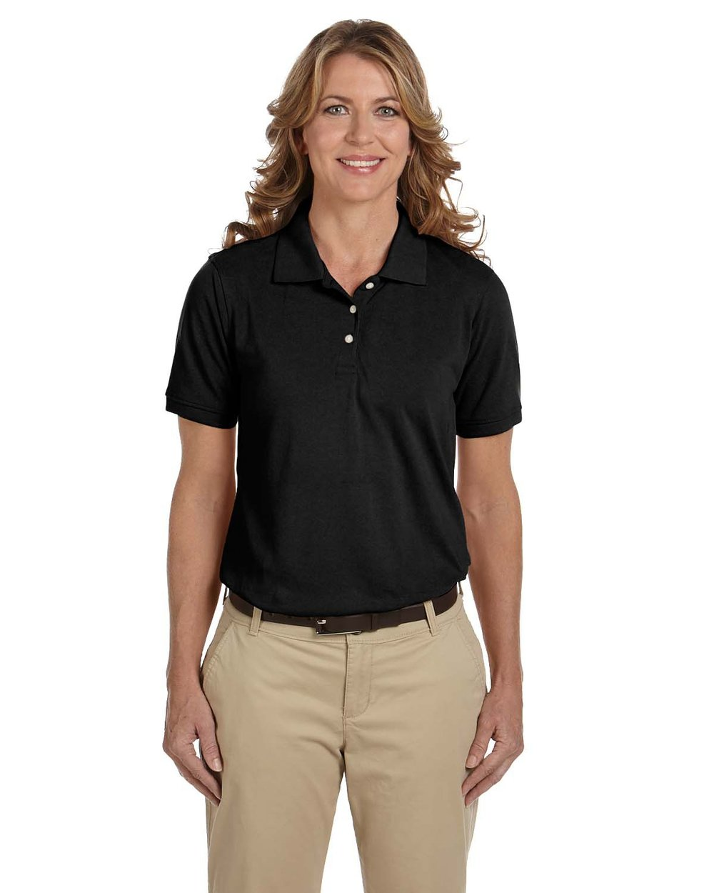 Harriton Ladies Blend Polo #M265W