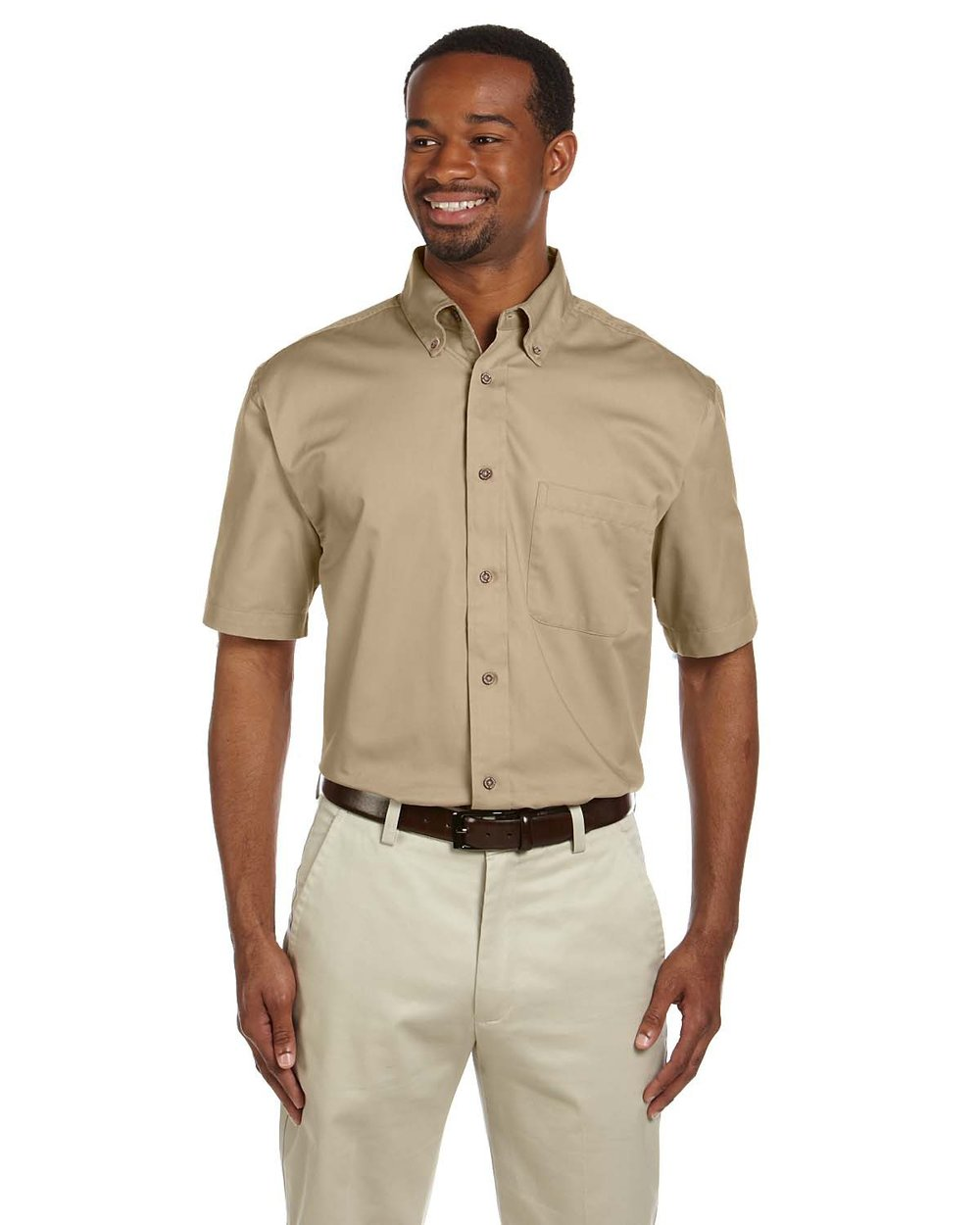 Harriton Short Sleeve Button Down #M500S