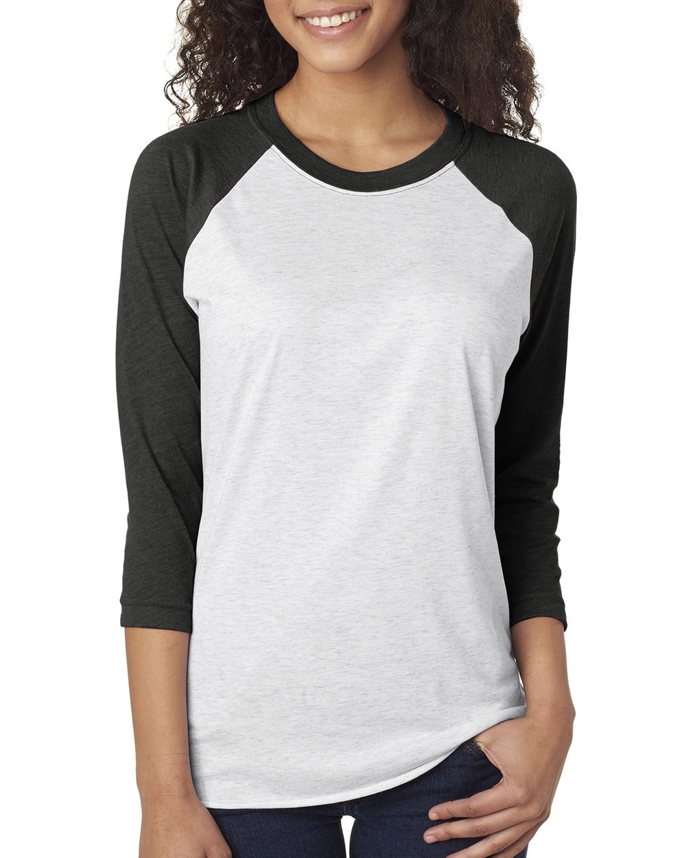 Next Level 3/4 Raglan #6051