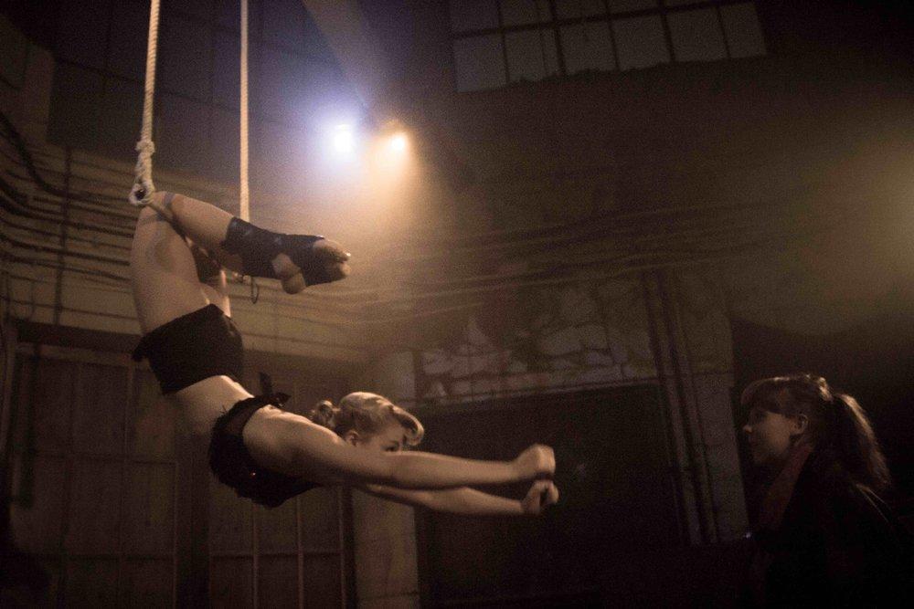 Ellie Dubois & Nicola Lawton in Ringside