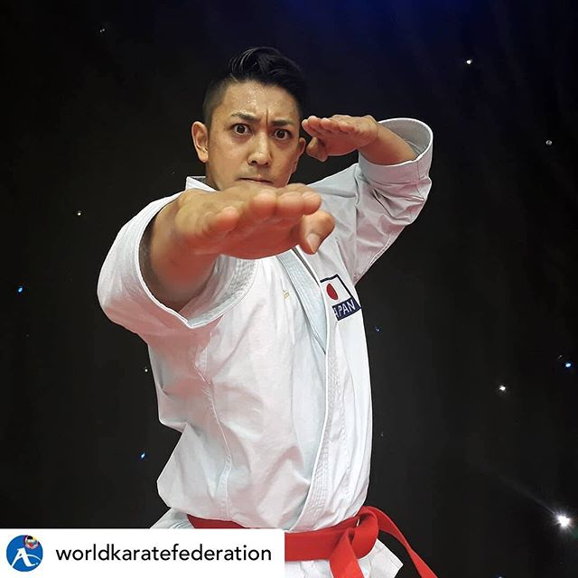 Looking towards the end of snowpocalypse 2019 like... • @worldkaratefederation This is how Grand Winner Ryo Kiyuna celebrated his qualification to thefinal of #Karate1Dubai. How would you celebrate your success? #Karate #martialarts #kungfu #taekwondo #qigong #taichi #yakima #yakimavalley #worldchamp #wkf #kata #kumite #anan #dai #fun #training #fitness