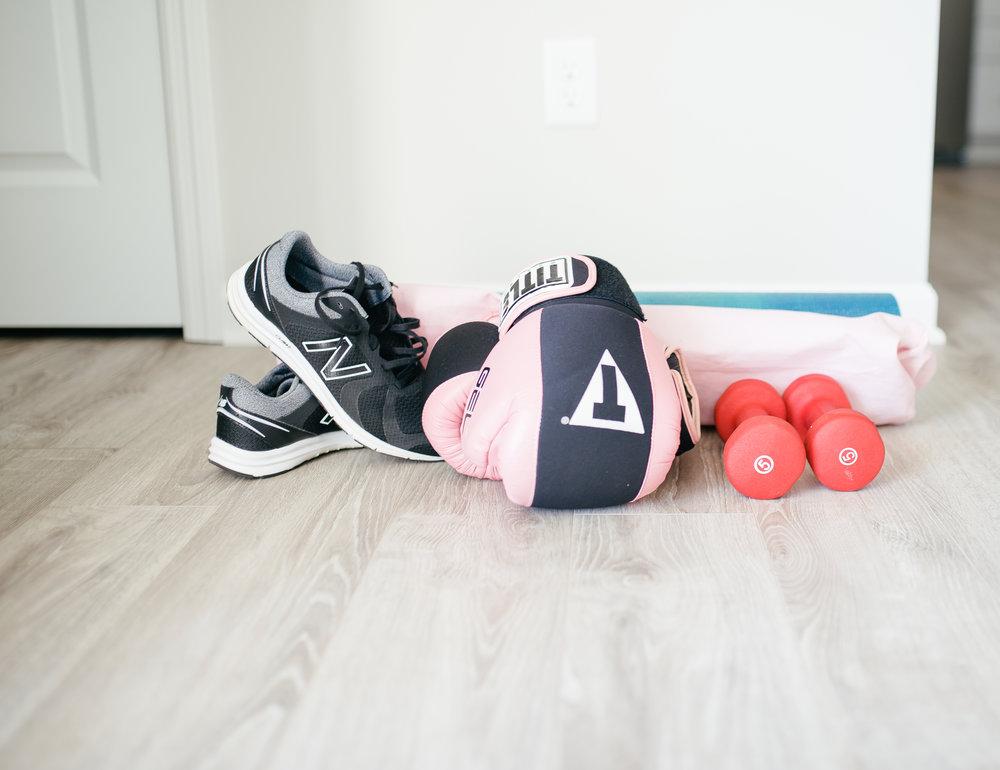 My kickboxing gear