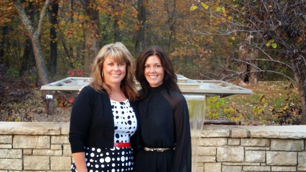 Amanda and her sister Brandi