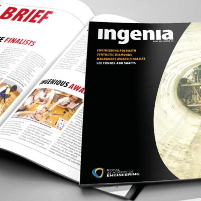 Royal Academy of Engineering Ingenia Magazine
