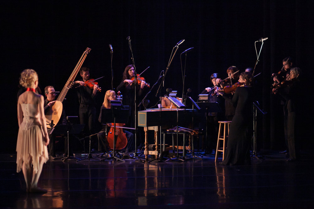 Baroque Chamber Orchestra of Colorado in Garrett Ammon's  Marie  with Wonderbound. Photo by  Amanda Tipton . 2015.