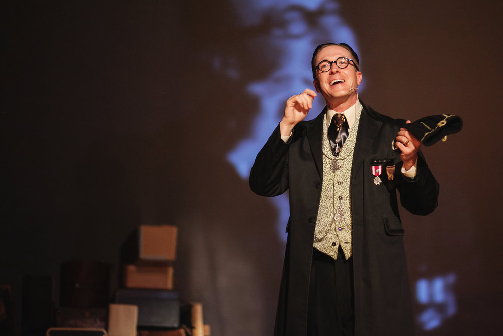 Professor Phelyx in Garrett Ammon's  A Gothic Folktale . Photo by  Amanda Tipton . 2013.