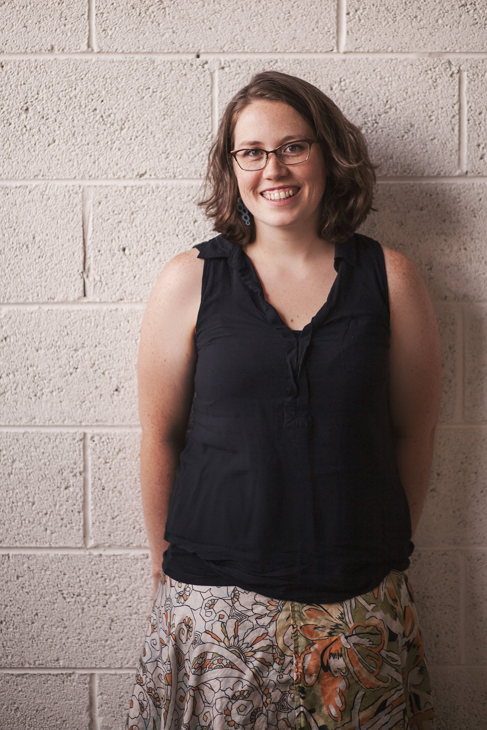 Wonderbound's Production Manager Eleanor Moriarty. Photo by Amanda Tipton. 2008.