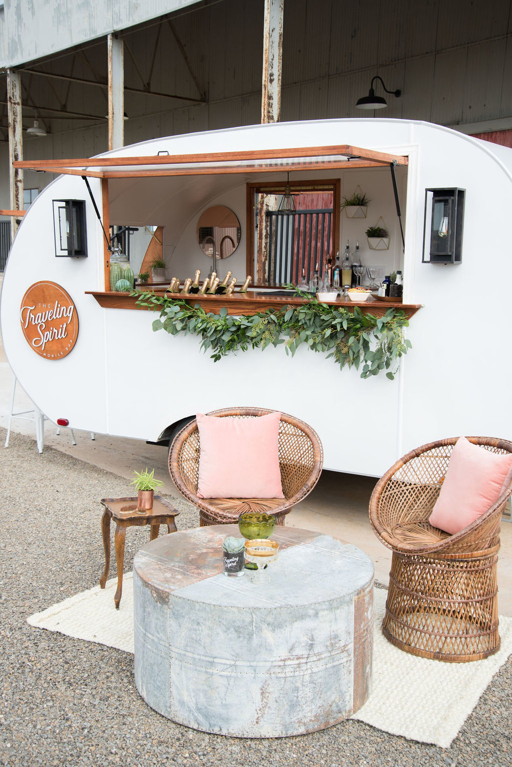 Camper Bar Rental - If you're looking for a complete experiential bar package, we can serve any of our beverage packages from our mobile bar! We also rent out our bar without bar services for events that do not need bartenders.Delivery within 30 miles of HoustonSetup & BreakdownCleaning