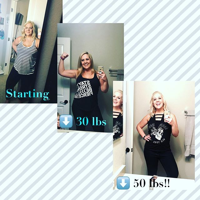 I feel a little awkward about posting these, but, I'm super proud of myself and just so incredibly thankful to God for the transformation He's been working in my life. Today I officially hit my 3rd weightloss goal: I've lost 50 POUNDS so far!!!! 🙌🏻🙏🏻 Long story short, last August I found a breast lump that shook our world a bit. I'm young, but have a strong history of breast cancer in my family so it was super scary. After 3 weeks of dr's visits and imaging, we were so relieved to find out it was nothing! Praise God! After I initially found the lump I knew I needed to change my lifestyle. I've always struggled with weight, and since our ectopic pregnancy the January before I had gained 19 lbs! I fully believe God used this lump to open my eyes and get me to change my life and really take control of my health. Weight is a risk factor for many cancers, including breast cancer, and I want to do everything I can to reduce my risk. No guarantees, but at least I know that I'm doing everything in my own ability to prevent it. I thank God every day for the wake-up call and transformation He has created in my life. Not only do I feel amazing and have more energy, but I'm modeling a healthy lifestyle to my kids. Our whole family is eating healthy, being more active, and laying a great foundation for our futures. It's not about looks and a number on the scale (although it is exciting to see the changes, I can't lie). Anyway. Just wanted to share because I'm so excited and amazed that I've come this far in less than 8 months. All glory to God!!
