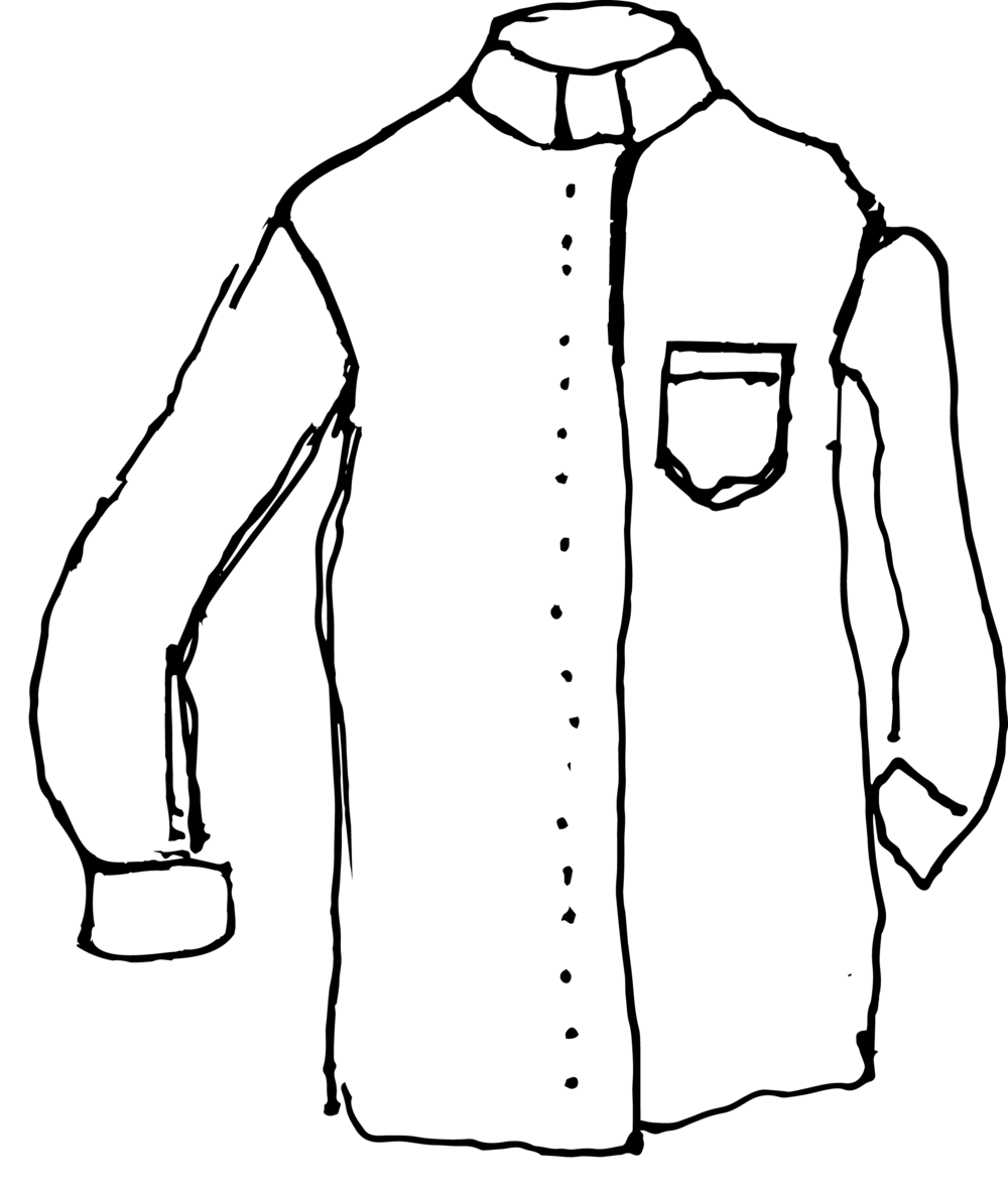Long Sleeved Clerical Shirt: Classic Style