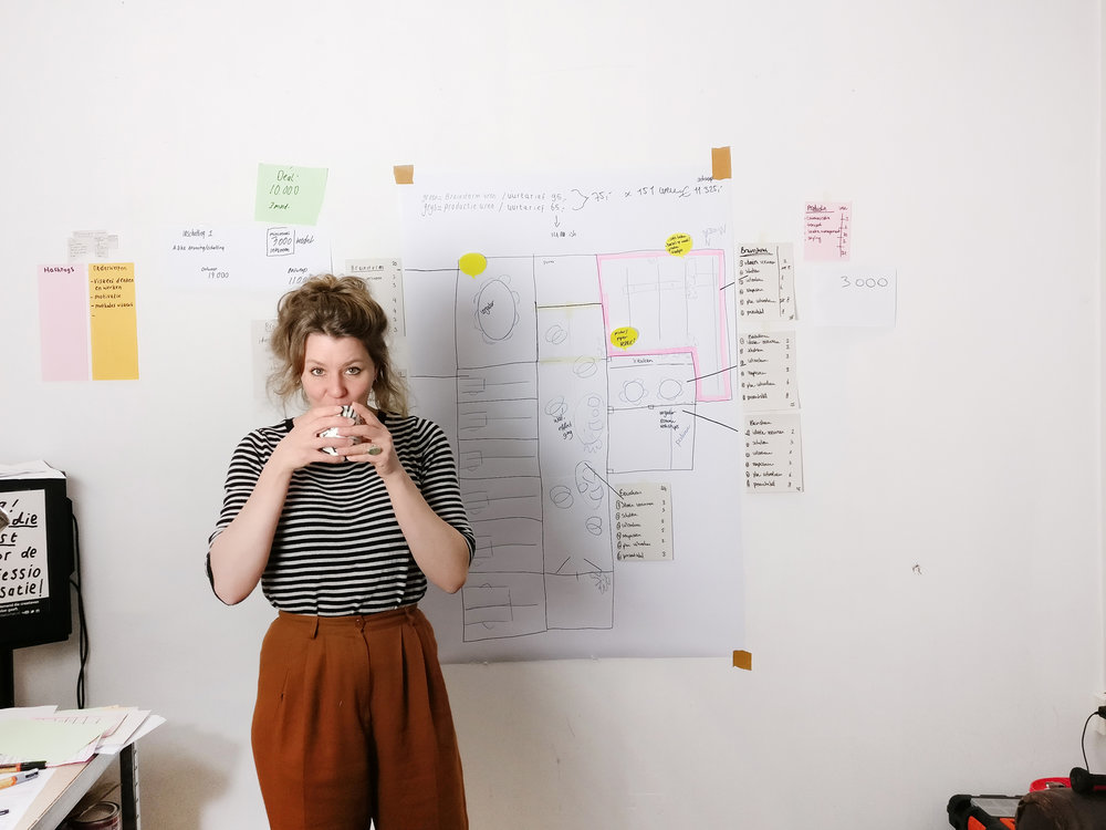 Ik help (creatieve) ondernemers, zowel in groepssessies als in een-op-eengesprekken. -