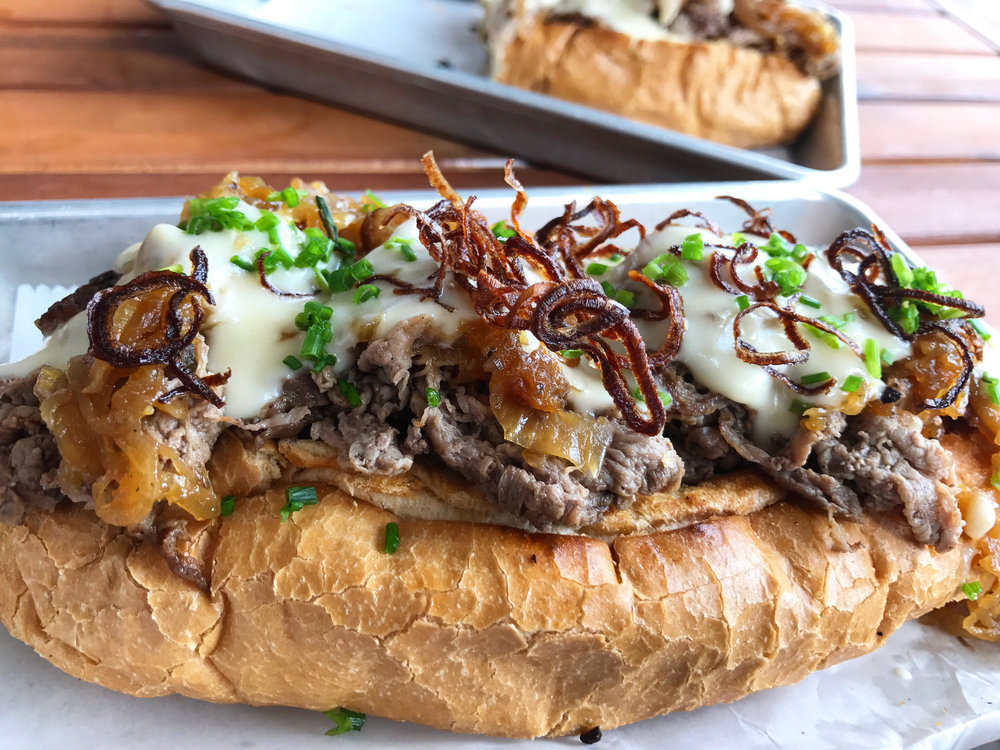 French Onion Cheesesteak