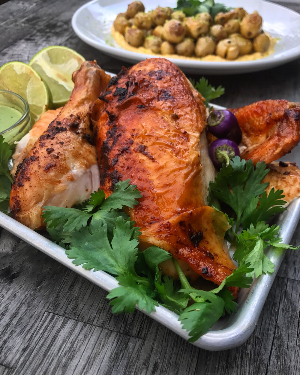 Cast Iron Peruvian Chicken