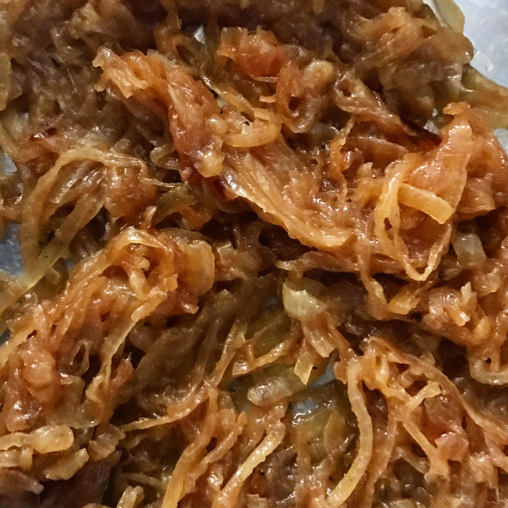 Bourbon Caramelized Onions