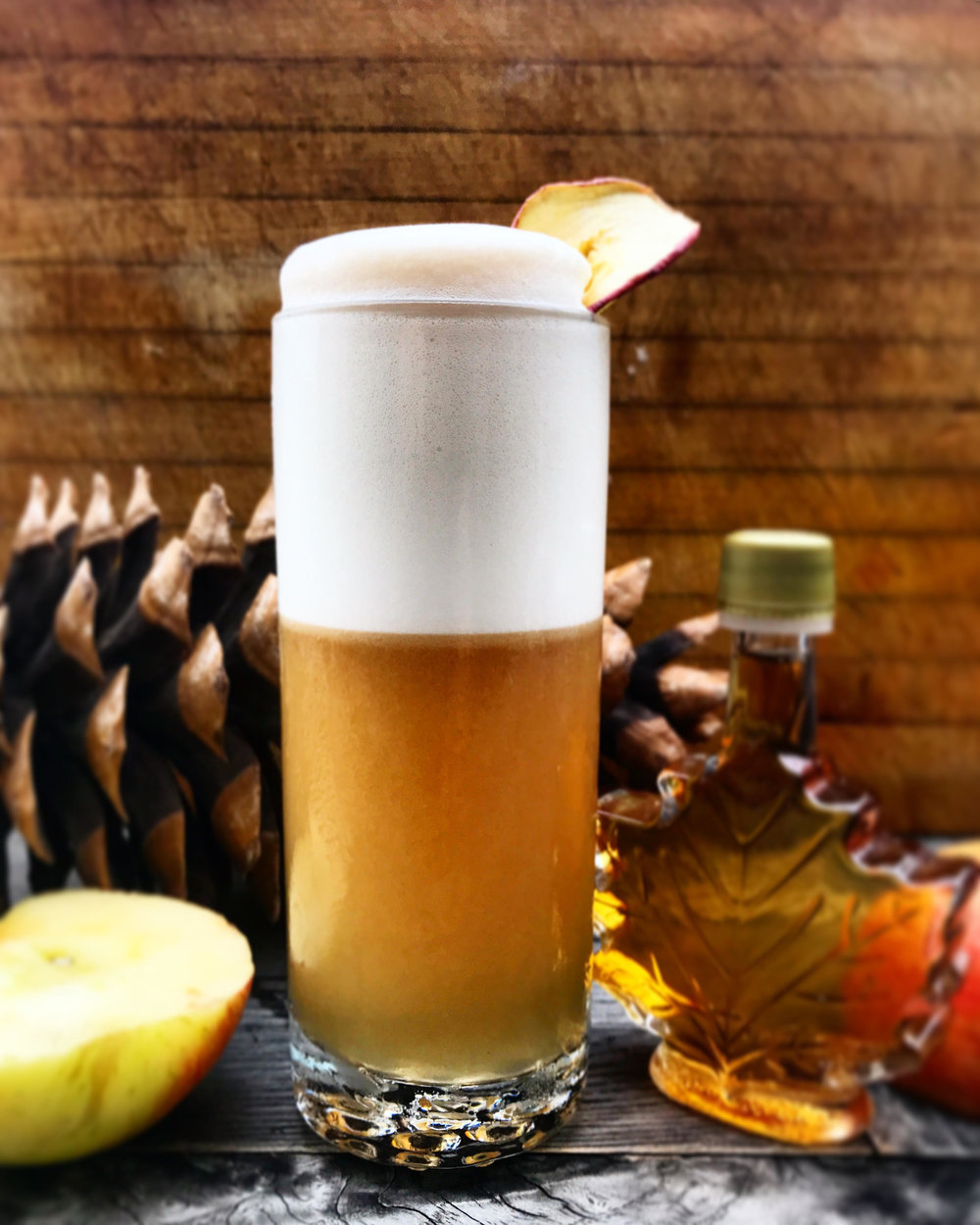 Maple Cider Fizz