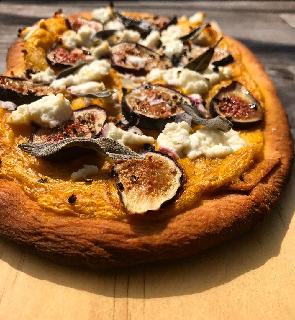 Fig & Butternut Squash Flatbread