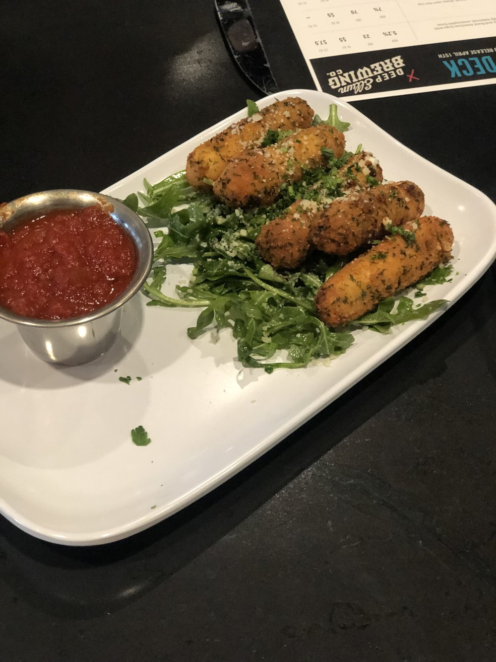 hello fried goat cheese