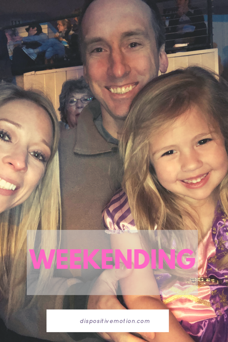 Sharing our weekend including our trip to Disney on Ice. #weekending #disneyonice