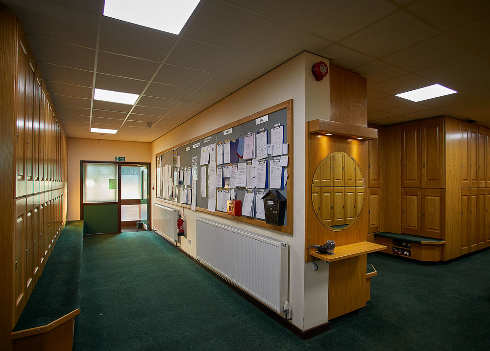 Locker Rooms - The Ladies and Gents locker rooms have recently been enlarged and refurbished to the very highest standards thus providing excellent changing and showering facilities to members and visiting parties.