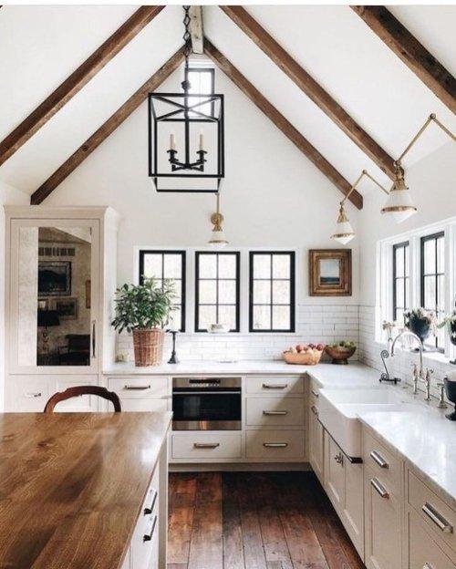 Double Farmhouse Kitchen Sink