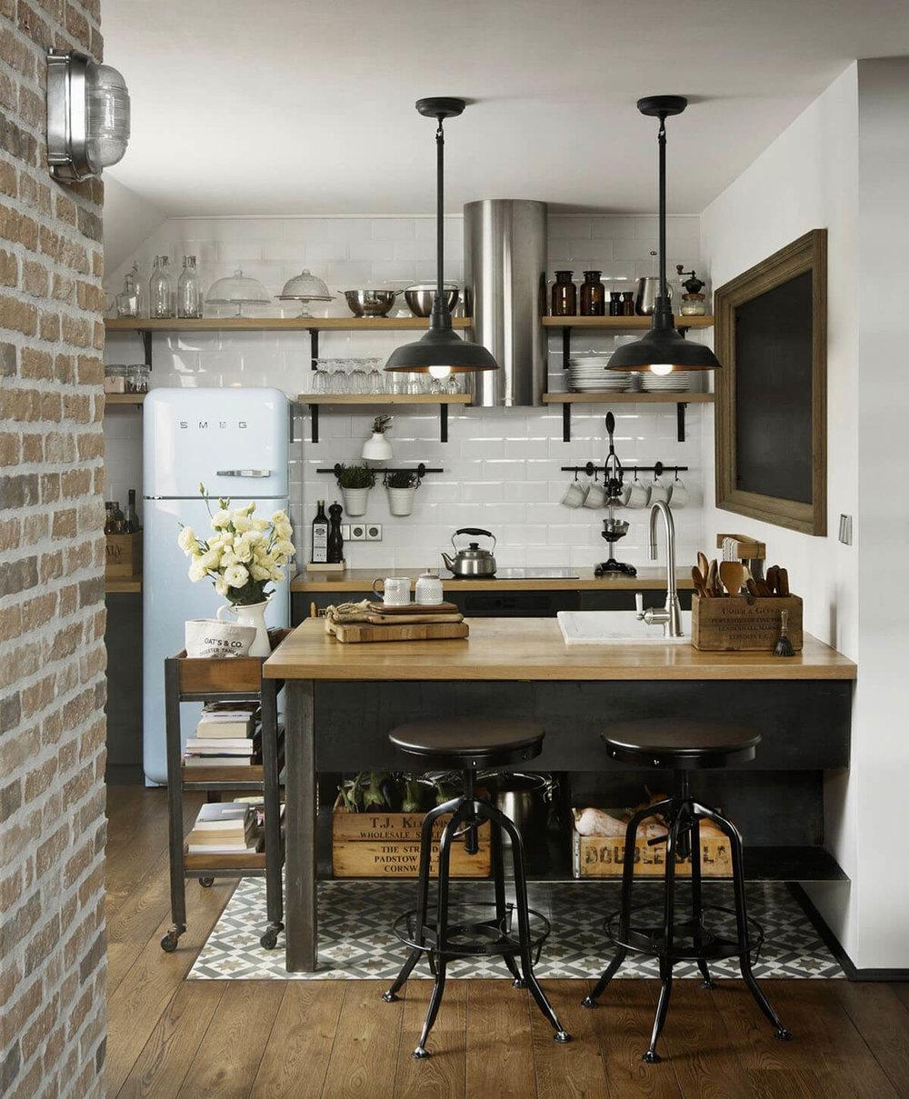 Small kitchen design ideas I www.blog.vigoindustries.com