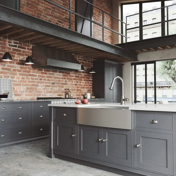 """With its dual action, pull-down spray head, the VIGO Harrison Pull-Down Spray Kitchen Faucet has the option of powerful spray or aerated flow, along with a 360° swivel spout that extends up to 30"""" to accommodate all of your kitchen needs.  www.vigoindustries.com"""