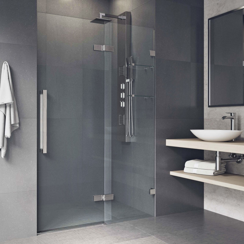 Hinged shower door by VIGO