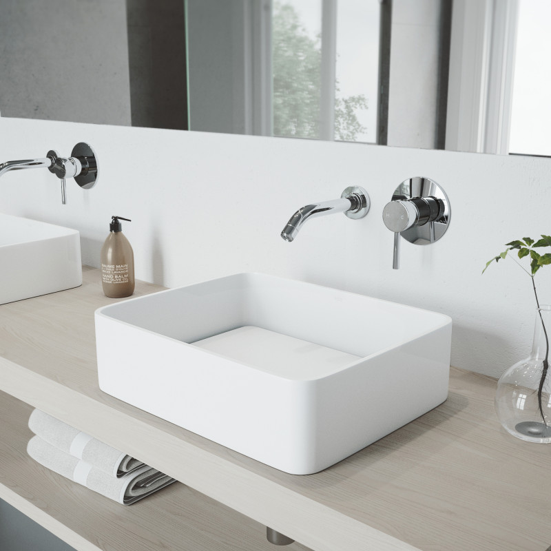 The VIGO Olus Wall Mount Bathroom Faucet  | Bathroom Faucets