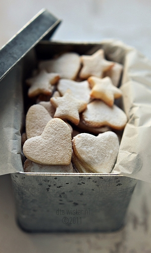 LEMON MELTAWAYS - Ingredients:1 cup confectioners' sugarFinely grated zest of 2 limes 2 tablespoons fresh lime juice 1 tablespoon pure vanilla extract1 3/4 cups plus 2 tablespoons all-purpose flour 2 tablespoons cornstarch1/4 teaspoon coarse saltSee it here!