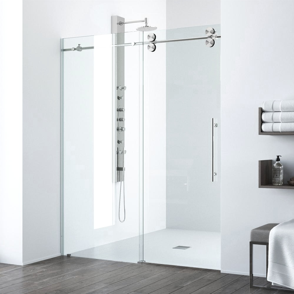 6 Bathroom Remodel Tips! Complete your bathroom with the VIGO Shower Door or Tub Door. Click to see more! | VIGO Industries - Bathroom Design Ideas - Bathroom Remodels - Home Interior