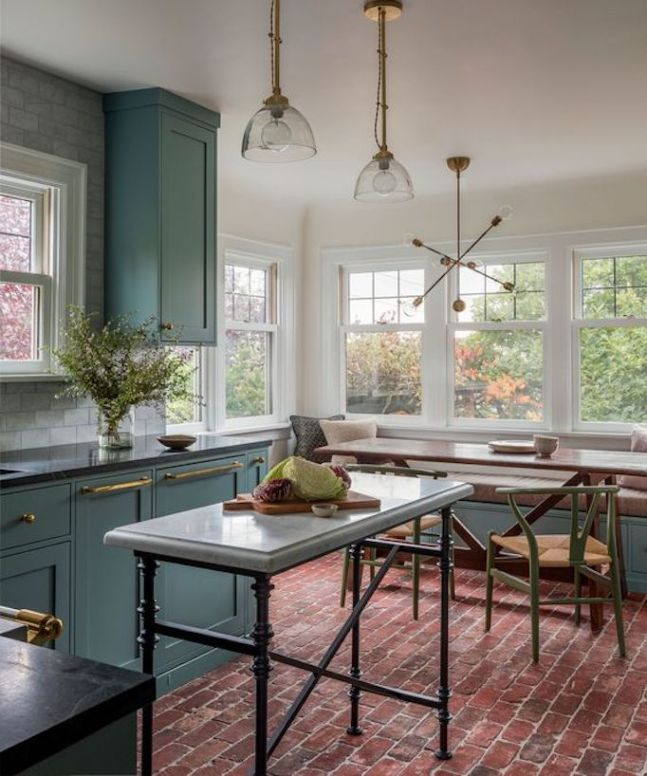 Interior Design Color Trends of 2019! Click to see more about kitchen and bathroom color ideas, schemes, cabinets! | VIGO Industries - Modern Bathroom Sinks and Faucets - Home Interior