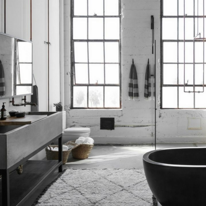 How to bring the industrial style into the home? Click to see more! | VIGO Industries - Kitchen Sink and Faucet Design Ideas - Industrial Kitchens and Bathrooms - Home Interior