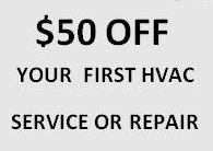 hvac coupon for repair or sevices