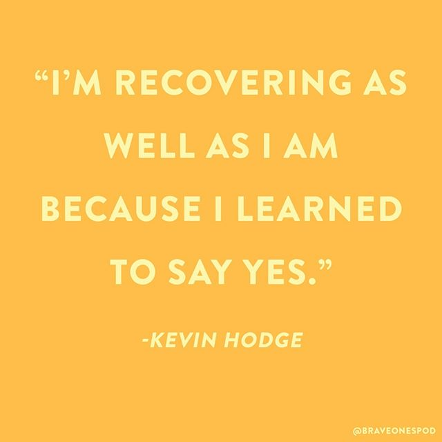 Have you listened to our last episode with @kevinhodge2 yet? Physical illness is one of the toughest battles we can face, but when we choose to take care of ourselves, miracles can happen ✨ . . . . . . #braveones #brave #bravery #podcast #podcastlife #podcastersofinstagram #podcasting #courage #inspiration #inspirationalquotes #motivation #motivationalquotes