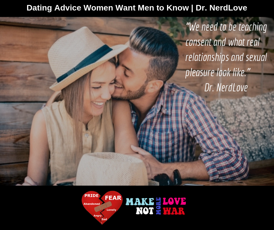 dating advice for men who love women like men like