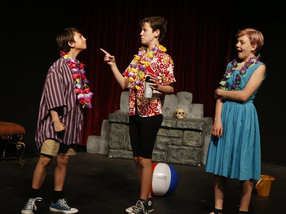 Teen Theater Shakespeare Performance