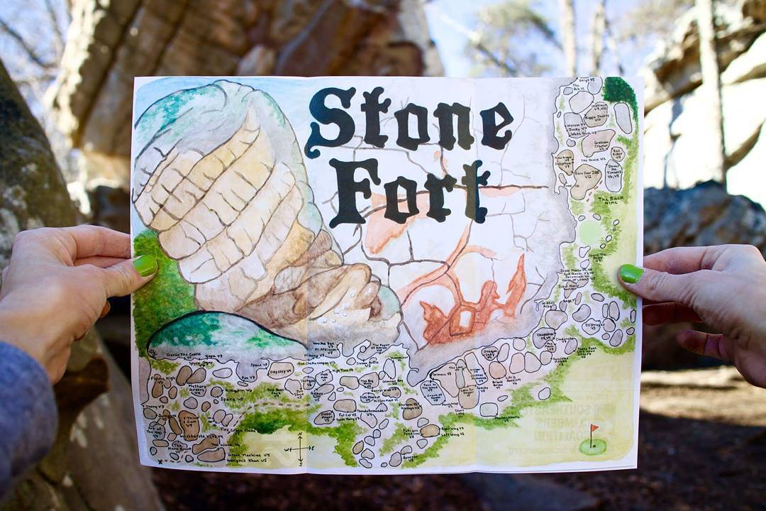 Stone Fort Map Picture