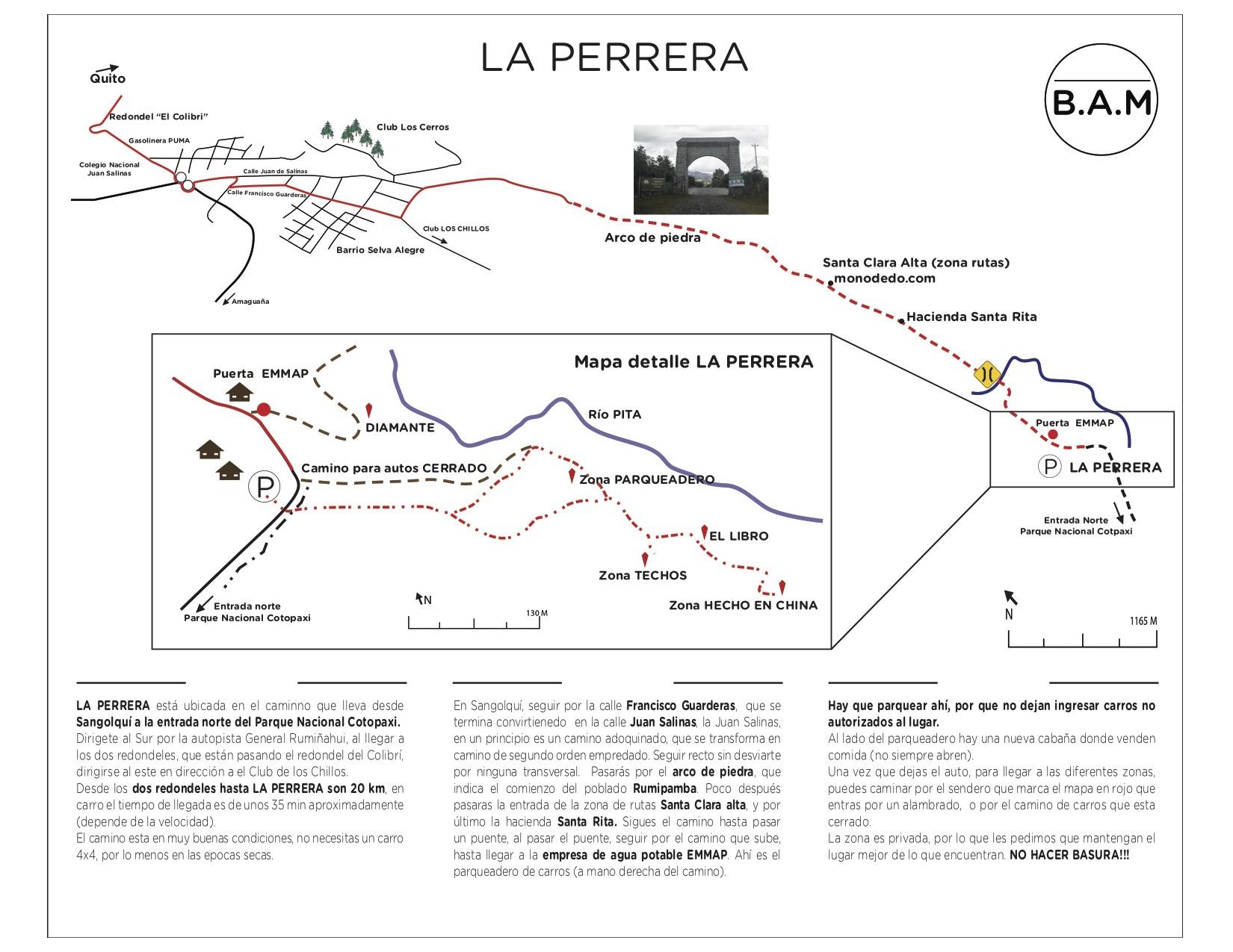 La Perrera Map