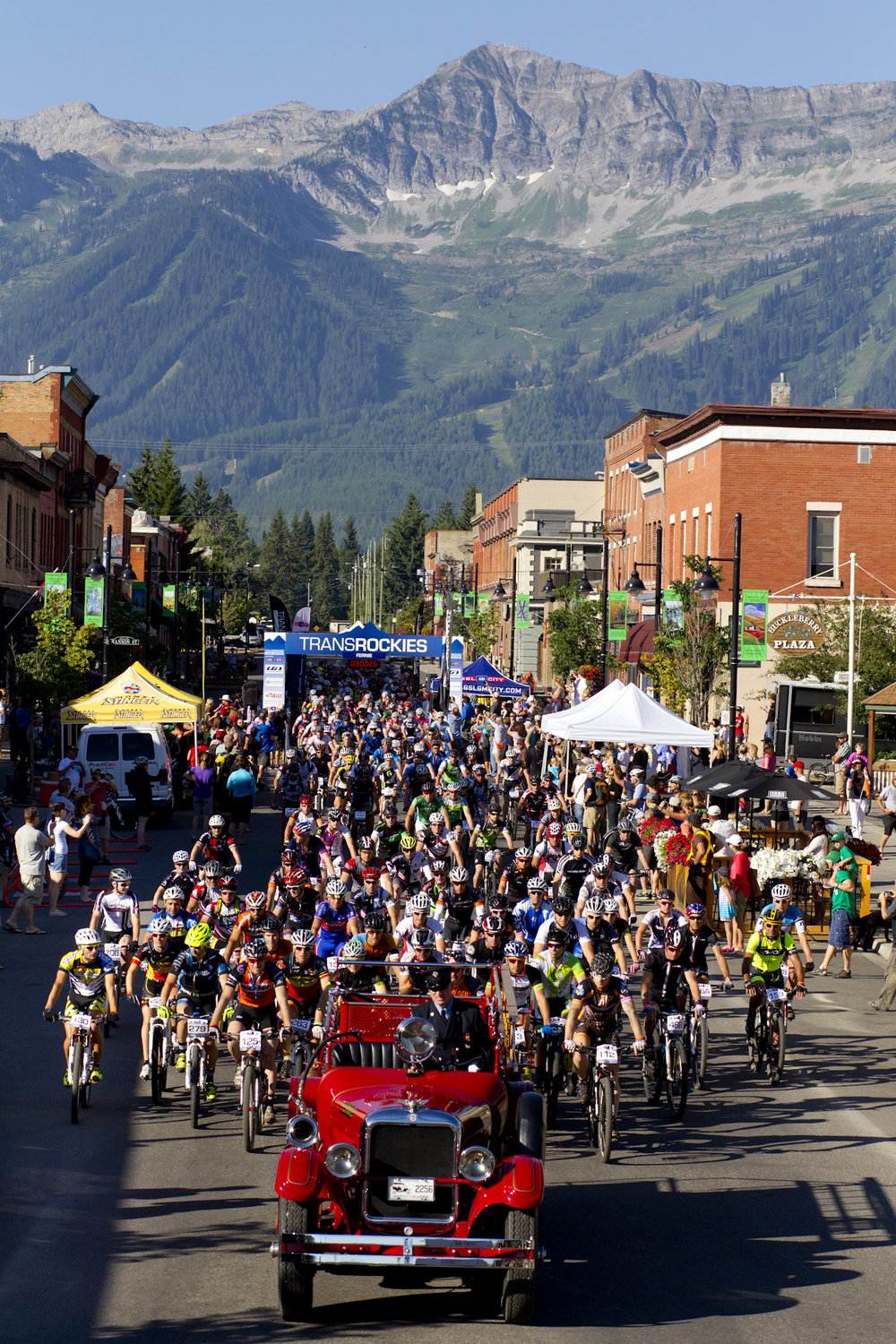 Canadian TransRockies mountain bike stage race, Fernie, BC