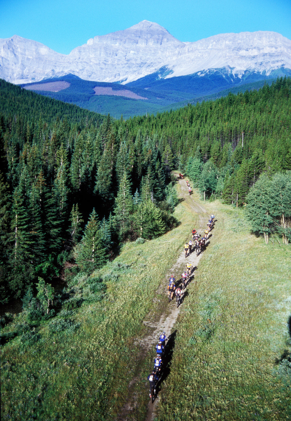 TransRockies Challenge mountain bike stage race, Alberta