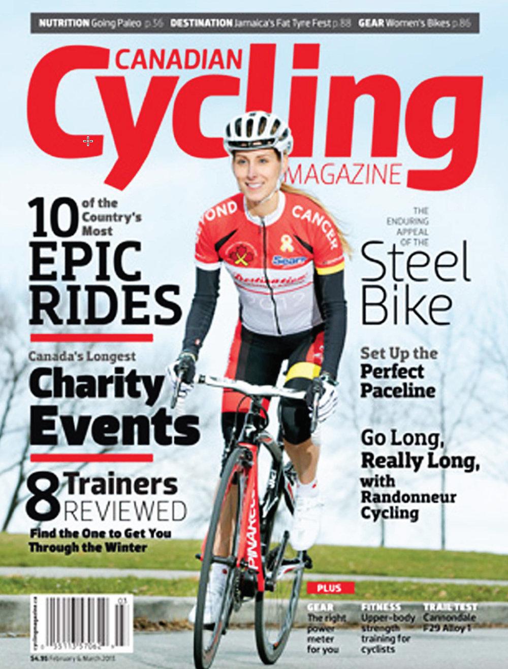 Canadian Cycling January, 2013
