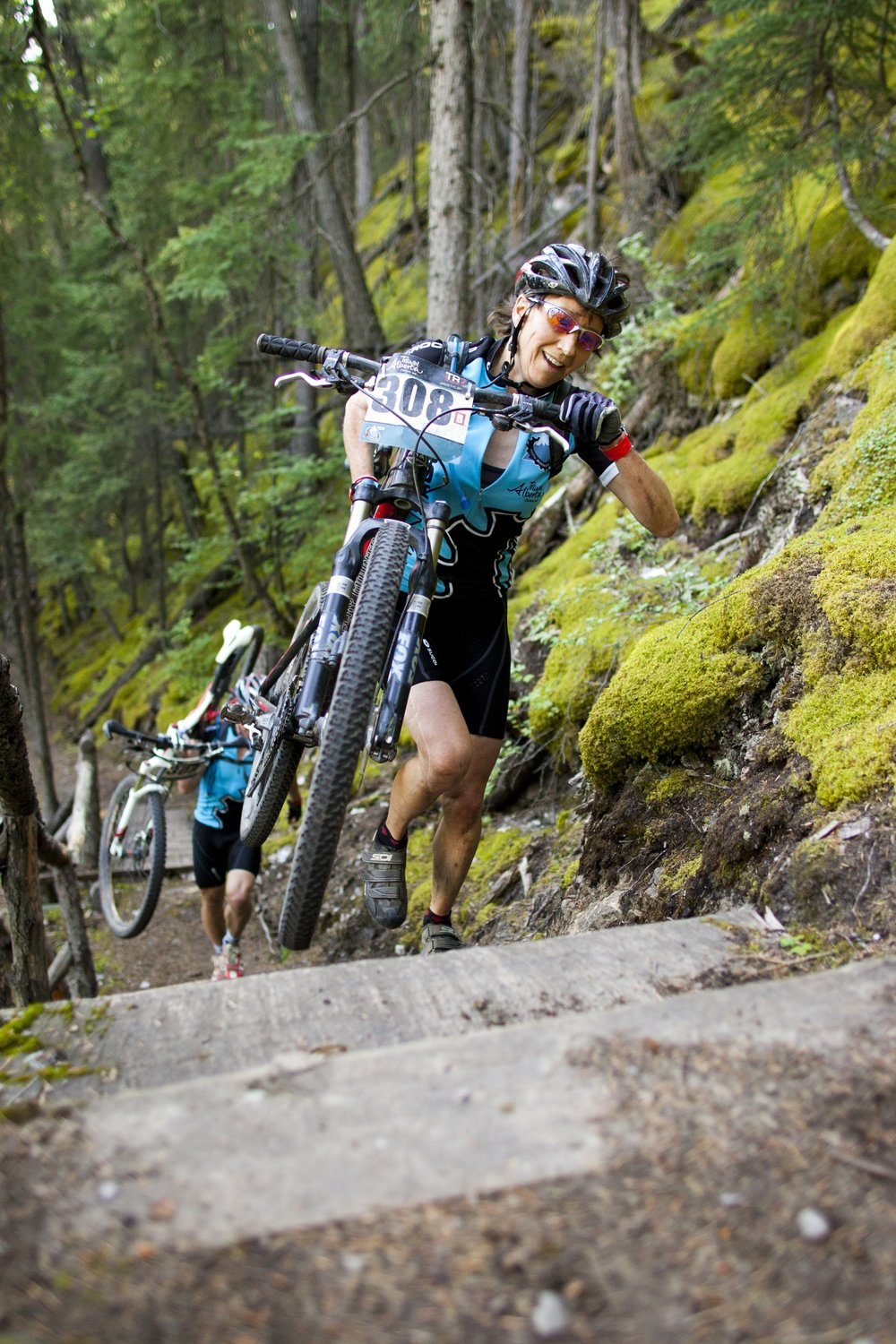 The TransRockies Classic 7 day mountain bike stage race