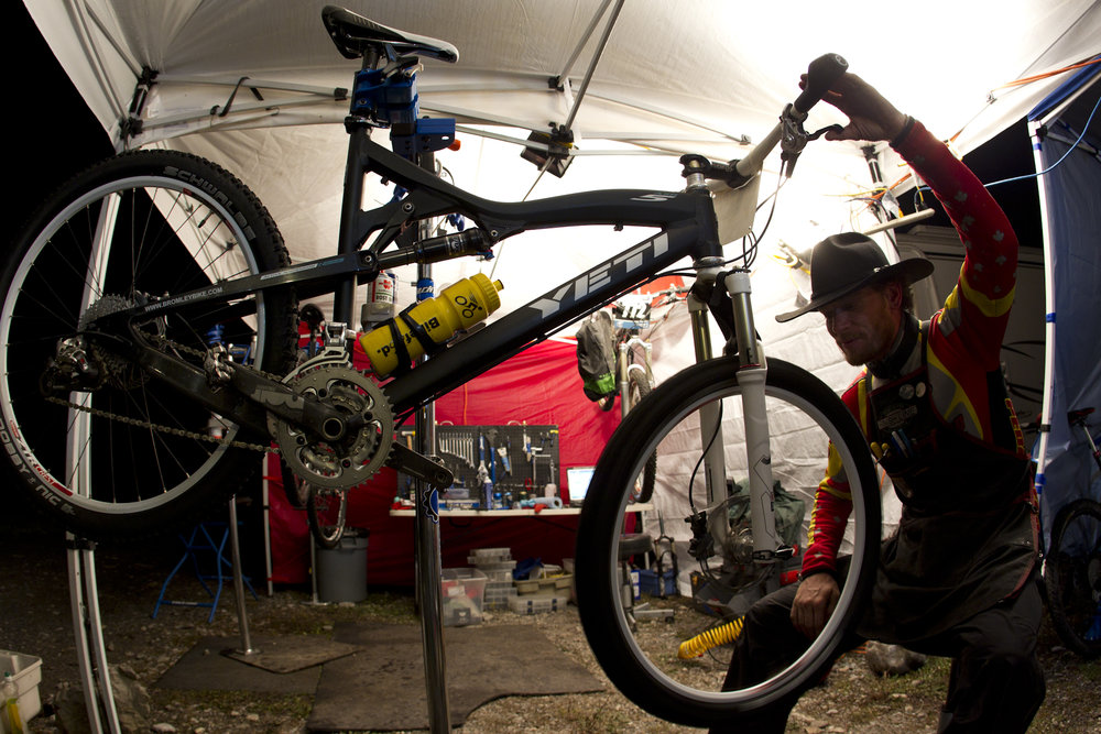 TransRockies mountain bike stage race – mechanical support