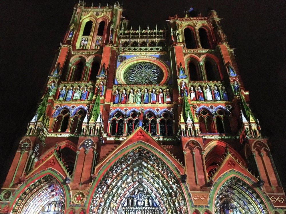 Chroma at  la Cathédrale Notre Dame d'Amiens