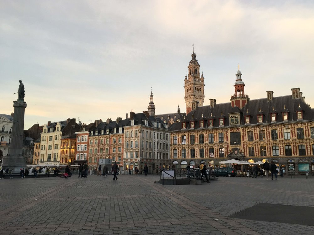 The Grand Place in Lille, France
