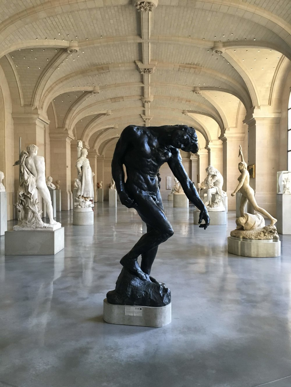 Rodin at the Palais des Beaux Arts in Lille, France