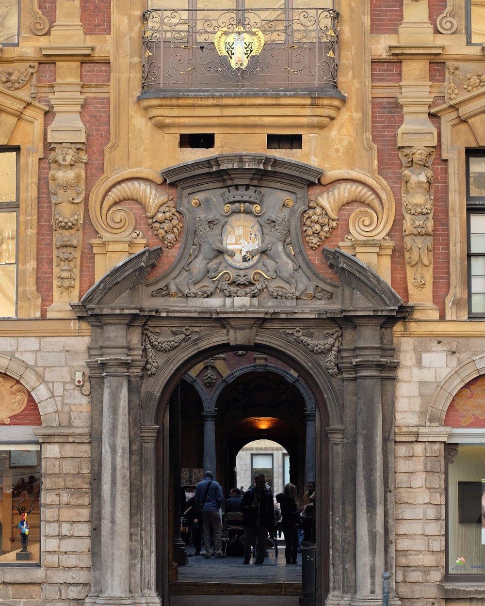 La Vieille Bourse in Lille, France