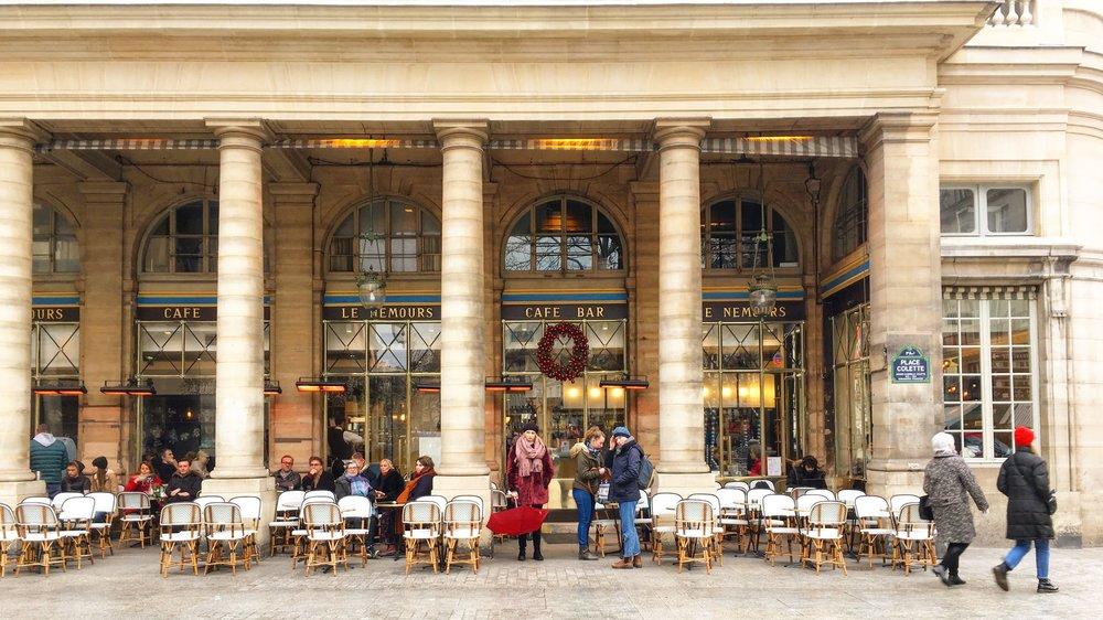 Le Nemours is such an inviting café.